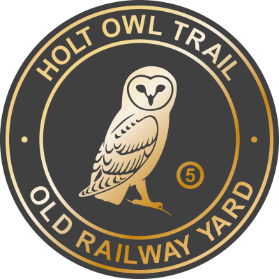 Holt Owl Trail Plaque 5 Old Railway Yard